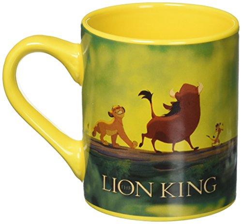 Silver Buffalo LK8132 Disney The Lion King Movie Ceramic Mug