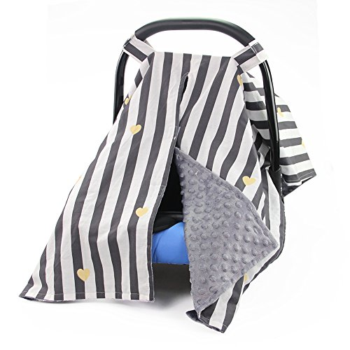 car seat cover black baby - 4