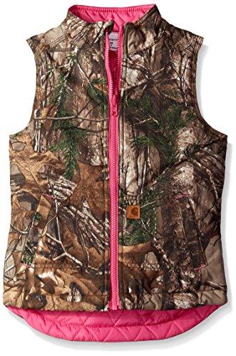 Carhartt Girls Reversible Camo Vest