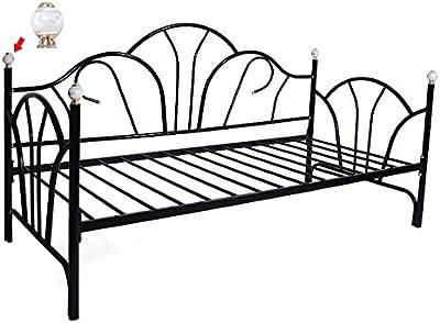 Amazon Com Dhp Bombay Metal Bed Frame Vintage Design And
