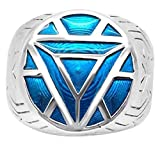 iron arc reactor - Marvel's Iron Man ArmorWomen's Ring in Sterling Silver - 4 Turquoise