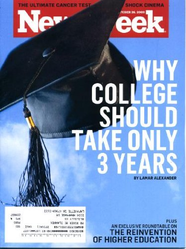 Download Newsweek October 26 2009 Why College Should Only Take 3 Years, Monty Python Turns 40, Ohio's Answer to Stonehenge ebook
