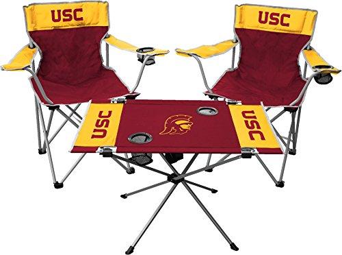 - Jarden NCAA USC Trojans Tailgate Kit, Team Color, One Size