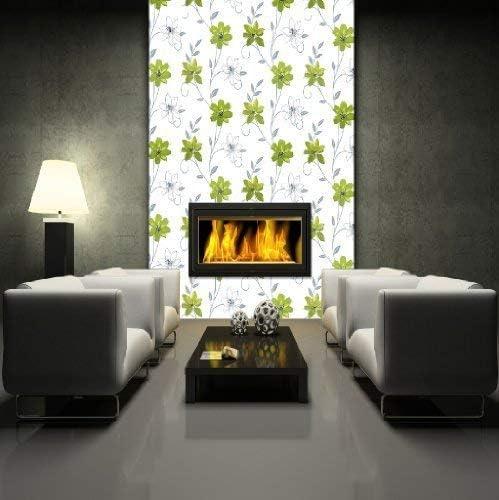 luxury exclusive i want wallpaper luciana floral metallic flower wallpaper green 417103 amazon ca home kitchen amazon ca