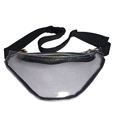 Flada - Bolso mochila  para mujer blanco estilo 1 Medium Transparent Style 5