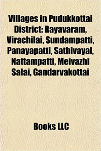 Amazon in: Buy Villages in Pudukkottai District Book Online