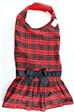 Cheap Midlee XX-Large Tartan Plaid Dress for Big Dogs