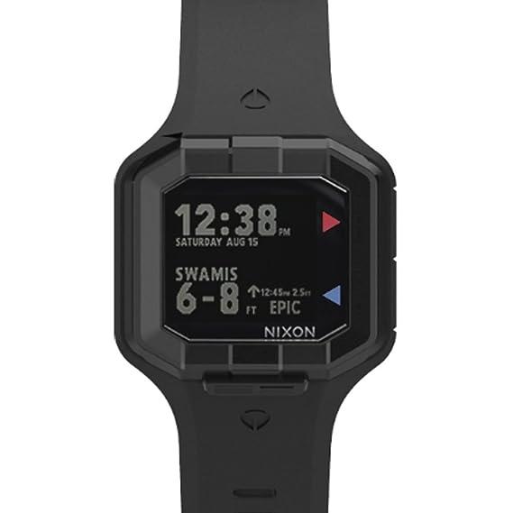 Nixon - Reloj de Pulsera Digital Cuarzo Silicona a476sw2244 - 00: Amazon.es: Relojes