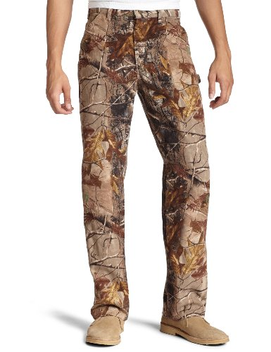 Carhartt Men's Camo Washed Duck Dungaree,Camo-Ap  (Closeout),33 x - Pants Closeout Jean