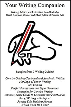 Your Writing Companion-Writing Advice and Instruction from Precise Edit by [Bowman, David]