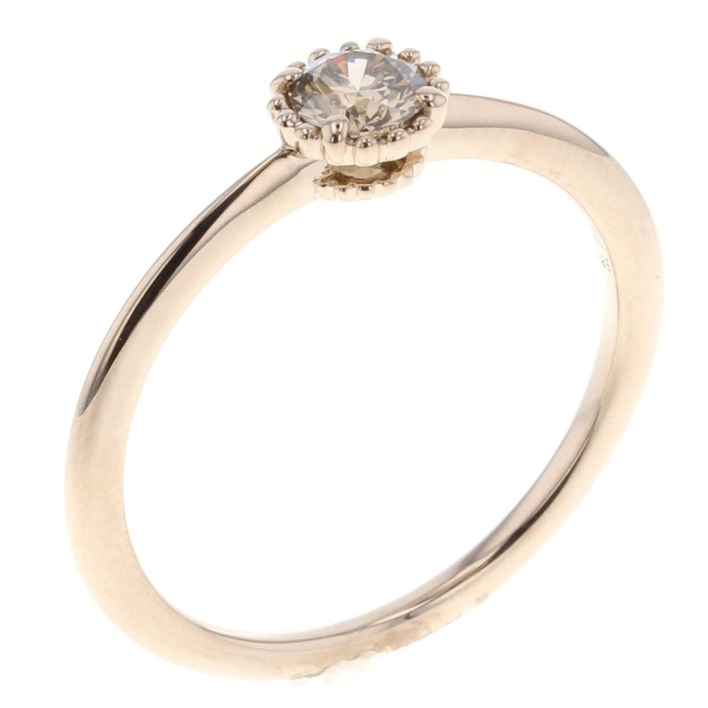 (カシケイ) KASHIKEY ミル ブラウンダイヤ 0.3ct 1P 15号 リング指輪 ブラウンダイヤモンド0.3ct レディース 中古 [PD2] B07CWPBQQV
