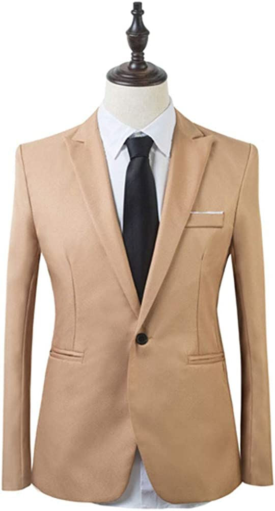 lexiart Mens Fashion 2 Piece Slim Fit Tuxedo Suits Jacket Pants Party Formal Wear