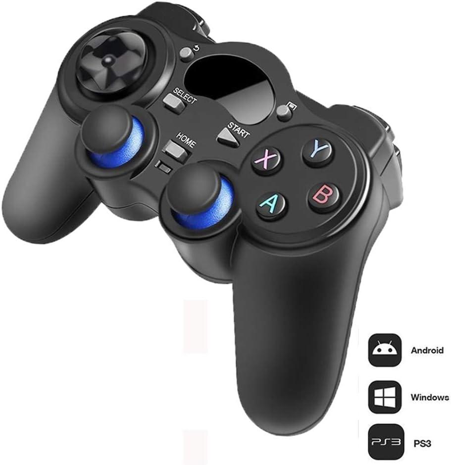 Gamepads Y Controladores Estándar, 2.4 G Gamepad Inalámbrico Android Joystick Joypad con OTG Convertidor para PS3 / Móvil para Tablet PC Smart TV Box: Amazon.es: Deportes y aire libre
