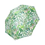 Best Greenery Umbrellas - Personalized Greenery Watercolor Pattern Fabric Rainy Sunny Umbrella Review