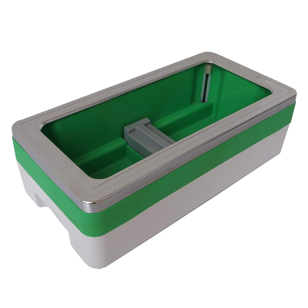 Shoe Cover Machine Dispenser Automatic Home Medical Anti Slip Anti-Wear ABS Plastic Safety, 200 Disposable Plastic Shoe Covers, Unisex Disposable Forming Foot Mould (16x8x5 in),Green by SOULOS (Image #7)