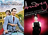 Audrey Hepburn 2 Film Collection Breakfast at Tiffany's & Roman Holiday Classic Bundle