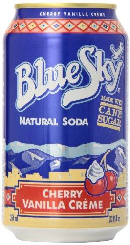 - Blue Sky Natural Soda Cherry Vanilla Creme - 6 CT
