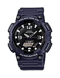 Casio Men's AQS810W-2A2V Casio Tough Solar Power Analog Watch