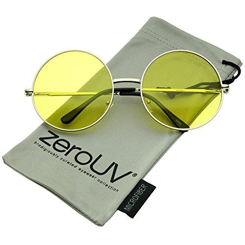 zeroUV Oversize Temple Colorful Sunglasses