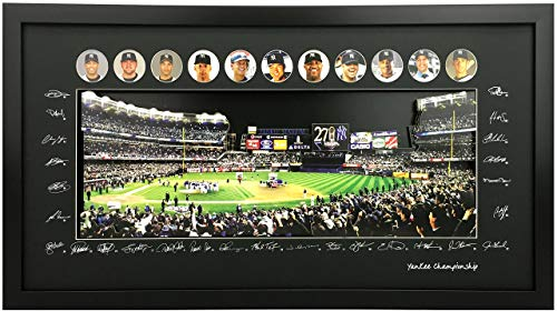 - Studio 500 3D Pop Up Wall Art, The New York Yankees 27th World Series Championship, 100% Glass & Framed, Ready to Hang