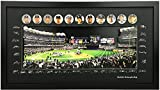 Studio 500 3D Pop Up Wall Art, The New York Yankees 27th World Series Championship, 100% Glass & Framed, Ready to Hang