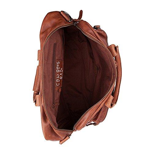 COWBOYSBAG The Bag 1030 bolsa de viaje, weekender, bolsa en cuero, cognac, 46x36x14 cm (LxAxP)