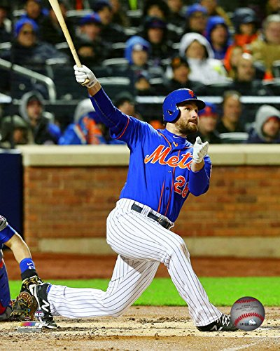 Daniel Murphy New York Mets 2015 NLCS Game 2 Home Run Action Photo (Size: 8