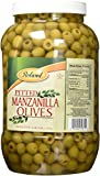 Roland Foods Pitted Manzanilla Olives 340/360, 128 Fluid Ounce