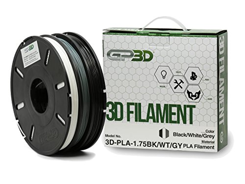 GP3D-PLA-Black-White-Grey-3-Color-3D-Printer-Filament-5KG-175mm-1lb-Multiple-Color-Multi-Color-Tricolor-Compatible-With-3D-Printers-Reprap-Makerbot-Replicator-2-Makergear-M2-and-up-Afinia