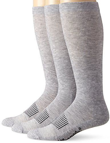 Wrangler Men's Western Boot Socks (Pack of 3),Grey,Sock Size:Large(10-13)/Shoe Size: 9-13