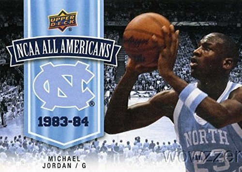 "Michael Jordan 2010/11 Upper Deck North Carolina #111 ""All Americans"" in MINT Condition! Chicago Bulls Legendary Hall of Famer! Shipped in Ultra Pro Top Loader to Protect - 111 North"