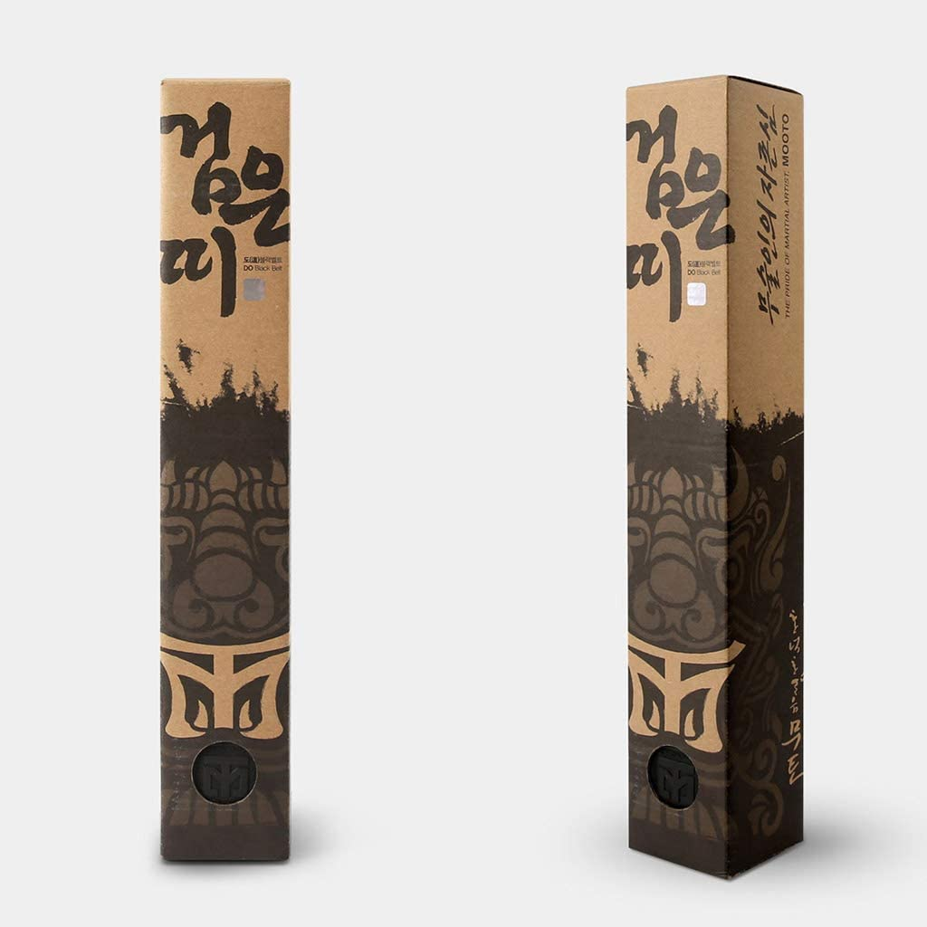 Mooto Korea Taekwondo DO Black Belt Width 5cm Double Wrap MMA Martial Arts Judo Karate Belts Gym School Academy