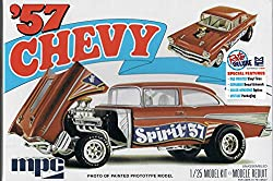 "MPC '57 Chevy Flipnose Spirit of 57"" Model Car Kit by Round 2"
