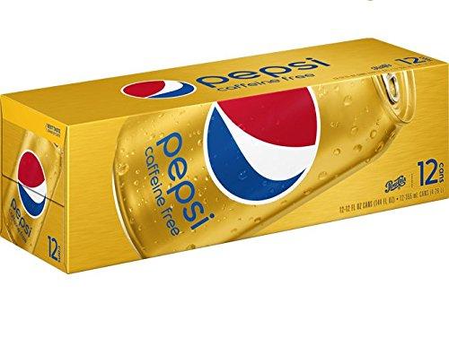 (Pepsi, Caffeine Free, 12 fl oz. cans (12 Pack))