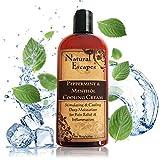 Organic Peppermint, Camphor & Menthol Cooling Cream   Natural Pain...