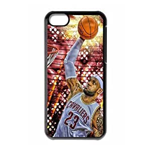 LeBron James ROCK0114990 Phone Back Case Customized Art Print Design Hard Shell Protection Iphone 5C