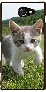 Funda para Sony Xperia M2 - Lindo Gato by WonderfulDreamPicture