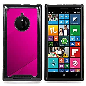 SKCASE Center / Funda Carcasa protectora - Purple Azulejos;;;;;;;; - Nokia Lumia 830