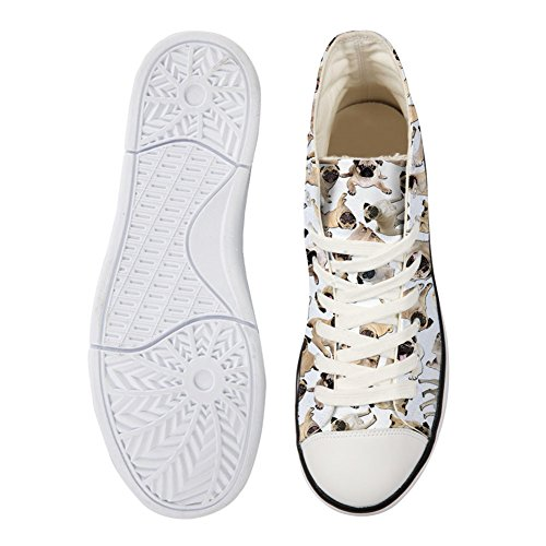 Chien Casual Kawaii Conceptions Toile U Chaussures Chat Femmes Pour wZzPp8qn