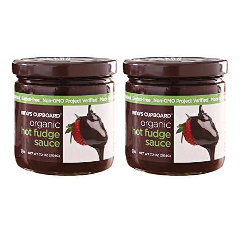 King's Cupboard-Organic Hot Fudge Sauce, 2 Count ()