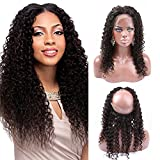 Greatremy Grade 7A 360 Lace Frontal Closure Curly Wave with Baby Hair Pre Plucked Brazilian Human Hair Natural Color 14inch Review