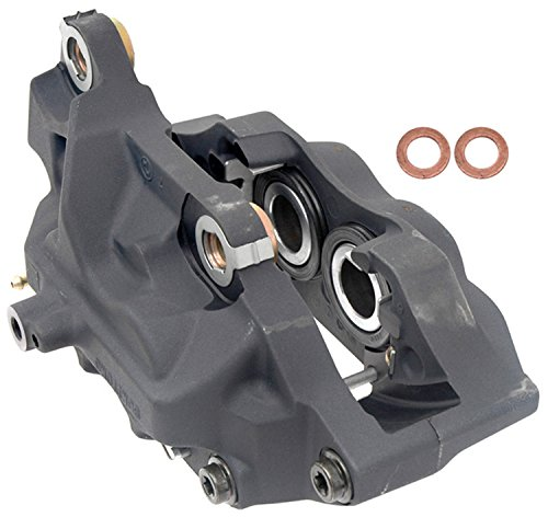 ACDelco 18FR1737 Professional Front Driver Side Disc Brake Caliper Assembly without Pads (Friction Ready Non-Coated), Remanufactured
