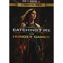 The HUNGER GAMES + CATCHING FIRE DVD+Digital Ultraviolet 2-Movie Set