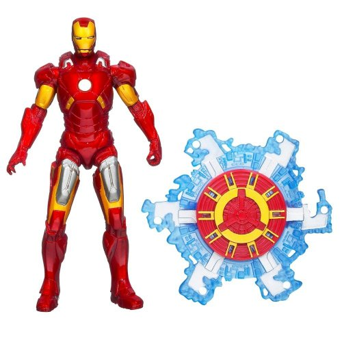 The Avengers 2012 Movie Series Iron Man Fusion Armor Mark VII 4 inch Action figure