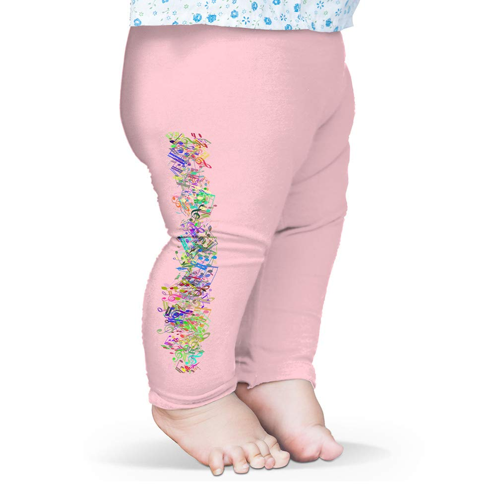Twisted Envy Baby Pants Music in the air Baby and Toddler Girls Leggings