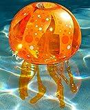 Inflatable Jellyfish Pool Light (Orange)
