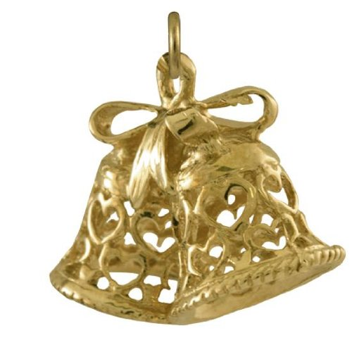 Charm Cloches en Or Jaune 9 Carats