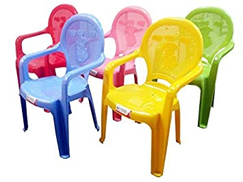 Lovely Kids Childrenu0027s Strong Plastic Childrens Chair Duck Design Chairs (Colour  Choice) (Pink): Amazon.co.uk: Kitchen U0026 Home