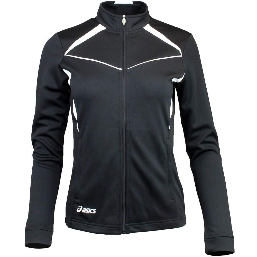 ASICS Jr Cali Jacket, Black/White, Medium by ASICS