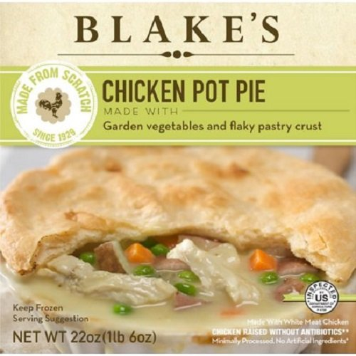 BLAKES All Natural Family Size Chicken Pot Pie, 22 Ounce (Pack of 6)